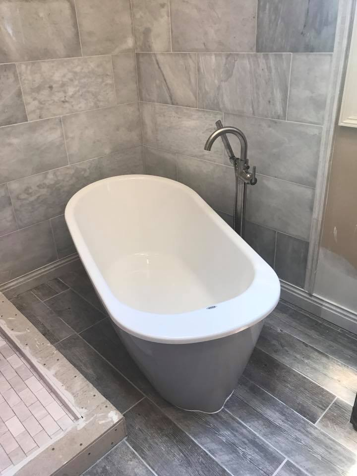 Soaker Tub Installation